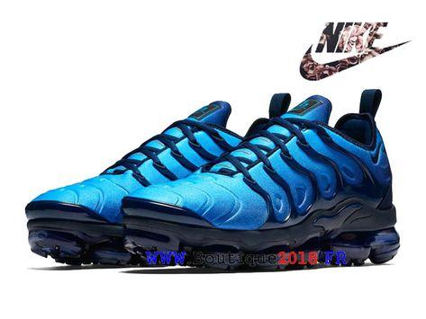 huge discount 18908 61e84 Nike Air VaporMax Plus Chaussures Nike TN Pas Cher Price Pour Homme  Obsidian Bleu 924453-401