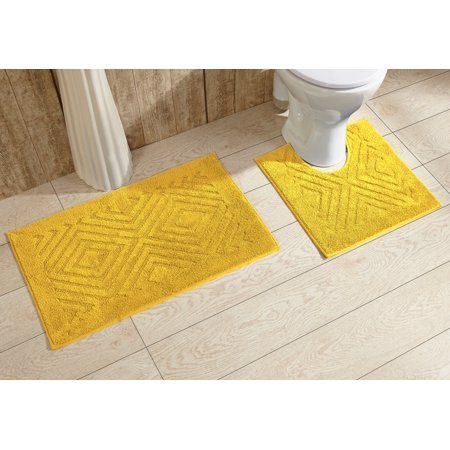 Better Trends Tiles 2 Piece Bath Rug Set 20 Inchx30 Inch 20