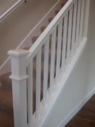 plain stair rail