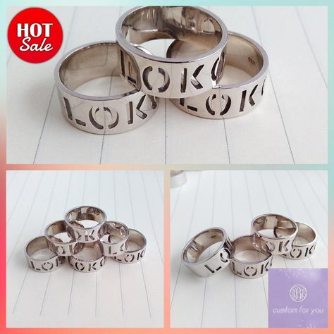 Boy girl feather figurs Ring,Personalized Band Ring,Modern Letters Ring,White Gold Monogram Ring,Any Initial Ring,3 Initial Monogram Ring #PersonalizedJewelry #WomenRing #SilverMonogramRing #CustomNameRing #MonogramedRing #BridesmaidGift #SilverInitialRing #GoldInitialRing #EngravedRing #ModernLettersRing