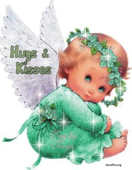 HUGS AND KISSES ANGEL (80 pieces)