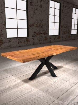 Tavoli In Legno Allungabili Da Cucina.Tavolo Allungabile Da Pranzo Realizzato A Mano In Legno Massello