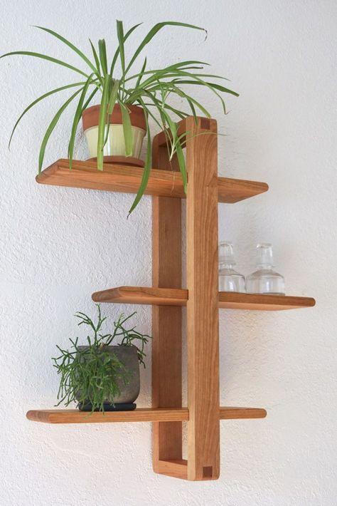 Modern Wood Shelf