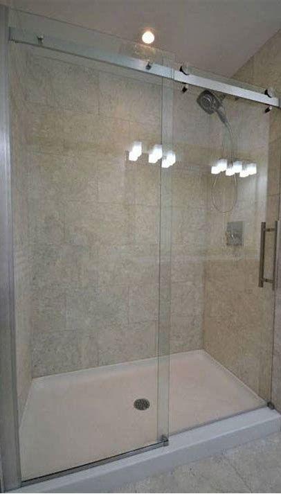 How To Build A Shower Pan On A Concrete Floor Fiberglass Shower