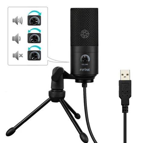 This High Quality Usb Microphone Records Top Quality Audio Directly From Your Laptop Simply Plug And Play Direc In 2020 Recording Microphone Usb Microphone Microphone
