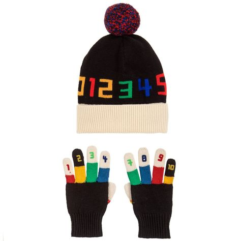 ACE   TWIDDLE Hat   Gloves Set for Boy by Stella McCartney Kids. Discover  the latest designer Hats for kids online 3dcd12e837d