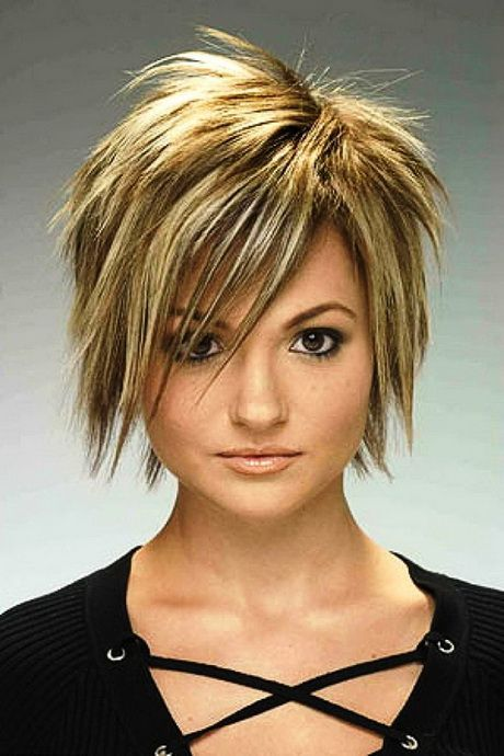Funky Medium Hairstyles Short Punk Hair Short Choppy Haircuts Hair Styles