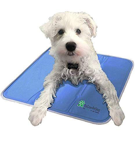 The Green Pet Shop Dog Cooling Mat Pressure Activated G Https Www Amazon Com Dp B0047wccbw Ref Cm Sw R Pi Awdb T1 X Q Cool Pets Pet Pads Dog Cooling Mat