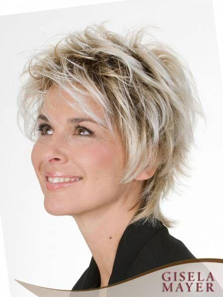 Gisela Mayer Perucke Fresh Tolle Kurze Haare Einfache Frisuren Lange Haare Abschlussballfrisuren