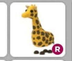 Adopt Me Legendary Giraffe Ride In 2020 Pet Store Ideas Giraffe Pet Hacks
