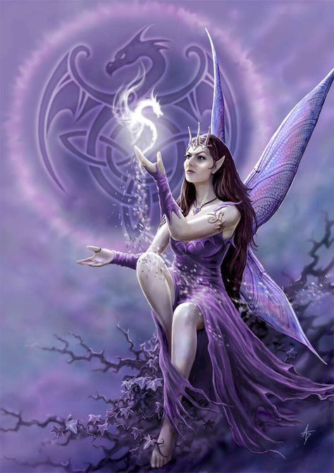 Of Anne Stokes. a great card featuring the fantastic artwork. Gothic Fantasy Art, Gothic Fairy, Fantasy Dragon, Fantasy Fairies, Beautiful Dragon, Beautiful Fantasy Art, Beautiful Fairies, Anne Stokes, Fairy Wallpaper