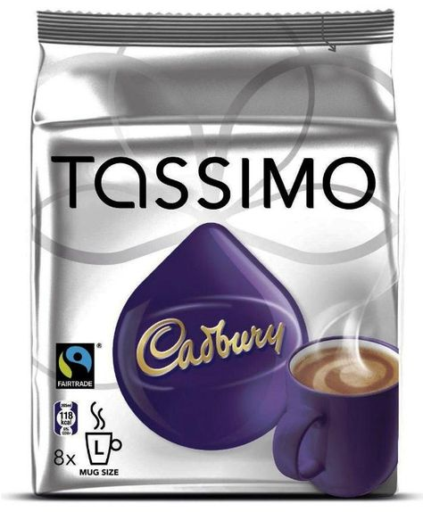 Tassimo Cadbury Hot Chocolate Pods By De Brewerz At Wwwde