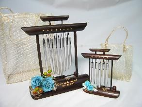 Bamboo Desk Chime Special Wedding Gift For Your Principal