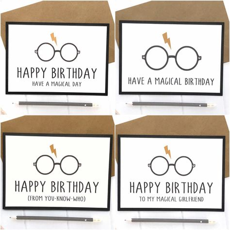 Excited To Share This Item From My Etsy Shop Harry Potter Card Birthday Gift Hogwarts