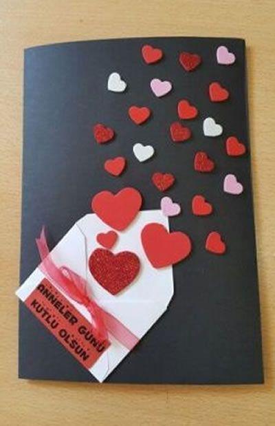 Cartao Para Dia Dos Namorados Criativo Cartoes Faceis Carta Dia