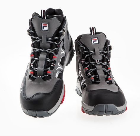 fila men's steel toe shoes