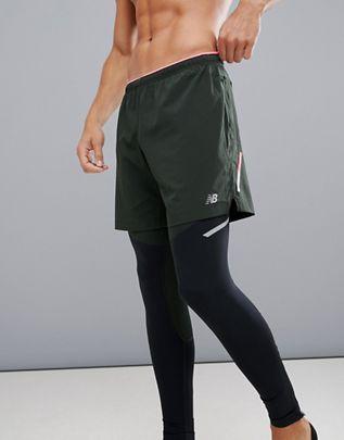 bf1933d14f739 New Balance Running Impact 7 inch shorts in khaki | Dress in 2019 ...