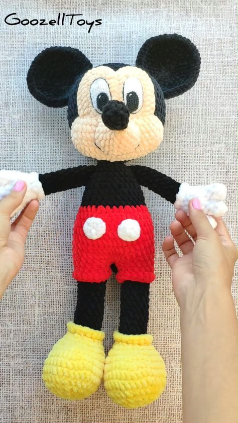 Amigurumi Crochet Mouse Toy Softies Free Patterns | Crochet mouse ... | 842x474