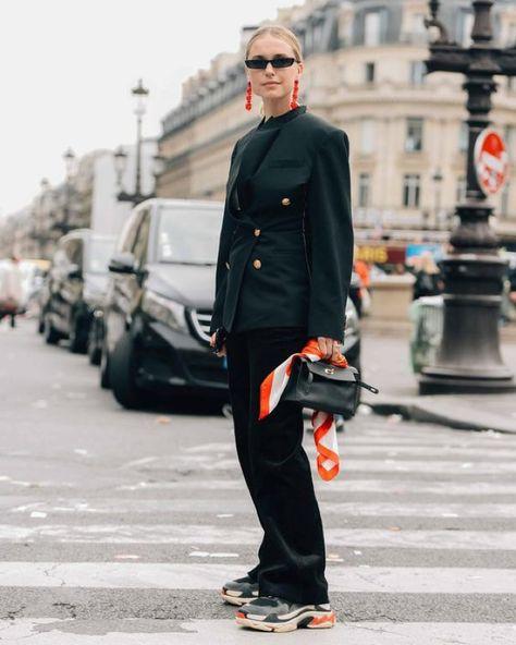 balenciaga triple s how to wear