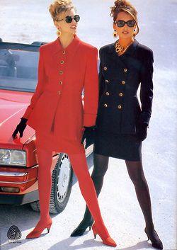 Escada F/W Models : Niki Taylor & Gail Elliott