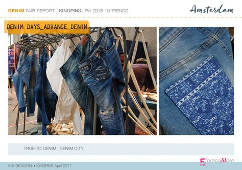 Kingpins Denim trends report for Autumn Winter