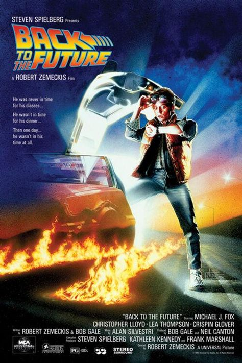 Back to the Future - One Sheet - Movie Poster