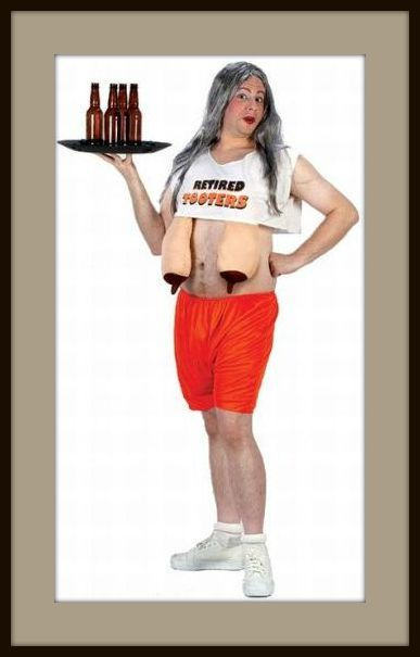 Retired Hooters Waitress Costumes and Sexy Hooters Waitress ...