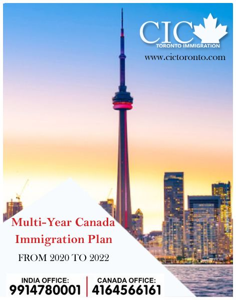According To Canada S Immigration Levels Plan For 2020 2022 Ircc