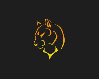Panther Logo Design This Is Perfect Logo Which Is Indicating That Business Power Security Power Human Nature Games Price 27 Desain Logo Gambar Logo Keren