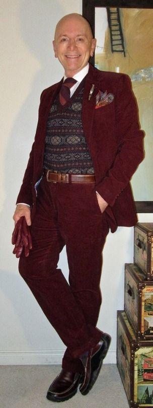 menswear Falconnable corduroy suit,...