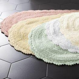 NEW FURRY SOFT DESIGN 3PC BATHROOM SET BATH RUG CONTOUR MAT TOILET LID COVER #9