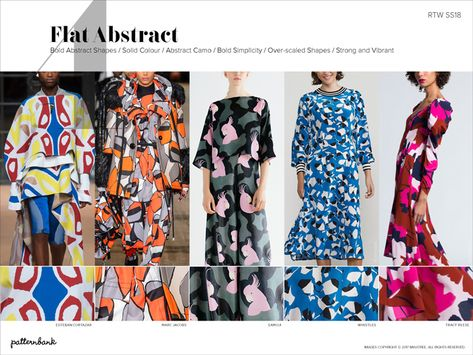 Patternbank brings you our latest in-depth catwalk trend report. Highlighting the key Spring/Summer 2018 Print and Pattern trends from the latest New York,