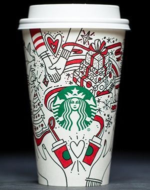 20 Years Of Starbucks Holiday Cups Holiday Cups Starbucks Christmas Cups Starbucks
