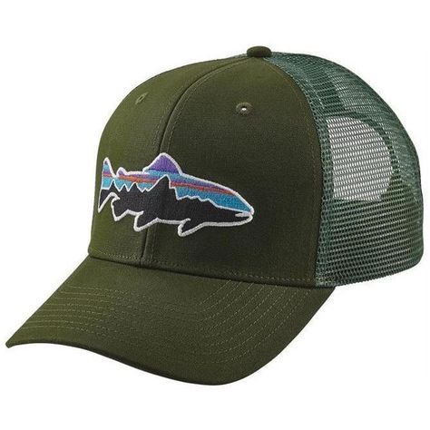 914f41f68be Patagonia Men s Fitz Roy Trout Trucker Hat