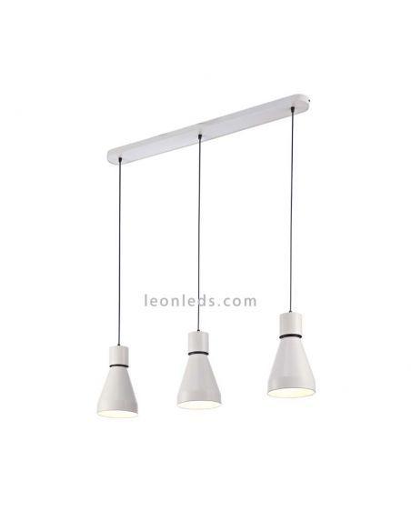 Lampara Lineal 3 Luces Kos 5841 Lamparas De Techo Techo De Color Tiendas De Iluminacion