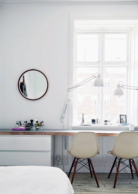 DIY Schreibtisch, Günstig U0026 Schnell Den Schreibtisch Selber Bauen |  Workspaces, Interiors And Desks