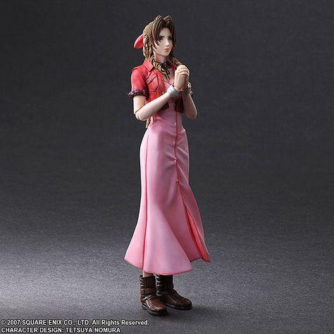 PLAY ARTS改《核心危機 -Final Fantasy VII-》艾莉絲(エアリス) | 玩具人Toy People News