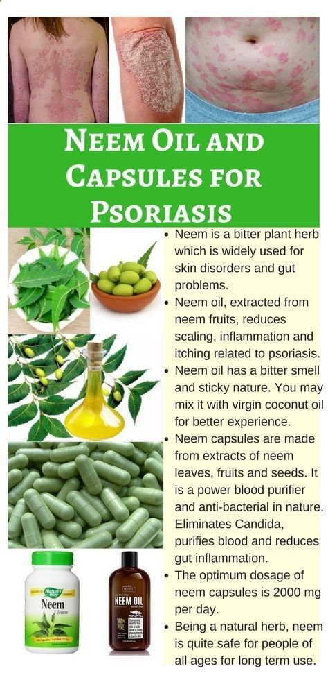 Psoriasis Diet - Neem is a powerful bitter plant herb for