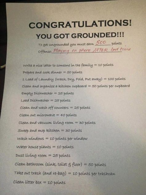 Mom Shares Clever Way She Deals With Grounding Her Kids