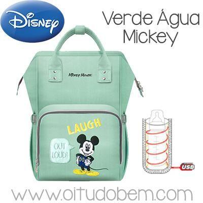 Bolsa Maternidade Disney Com Aquecedor De Mamadeiras Varios