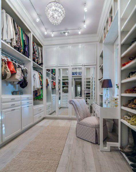 Top 60 Best Track Lighting Ideas Interior Light Designs Walk In Closet Design Build A Closet Closet Decor