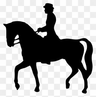 Horse Equestrianism English Riding Silhouette Clip Horse Riding Clipart Transparent Png Download English Riding Horse Riding Horses