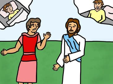 20++ Jesus heals the noblemans son coloring page free download