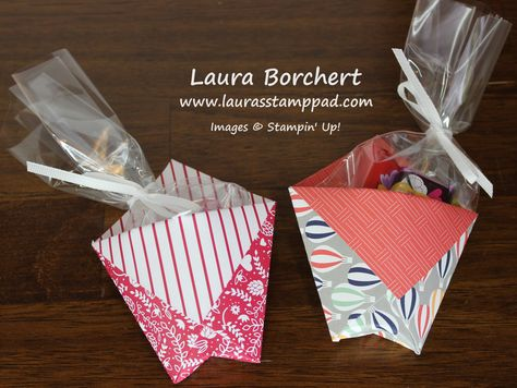 Triangle Treat Pockets Www Laurasstamppad