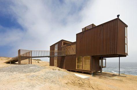 Частный дом в Чили на берегу океана — HQROOM