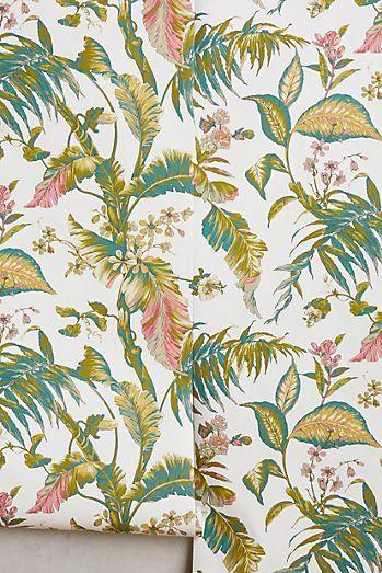 Canopy Creature Wallpaper Wallpaper Bedroom Floral Wallpaper Wallpaper