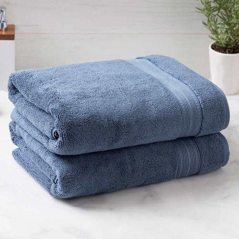Charisma 100 Hygrocotton 2 Piece Bath Towel Set Bath Towel Sets Towel Set Towel