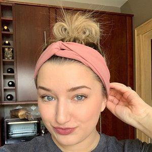 Mommy and Me Headbands Soft Hair Bow Top Knot Headband Soft CottonLycra Infant Head Wrap Knotted Headband The Savannah Headbands