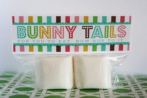 Marshmallow Easter Favors