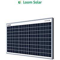 Loom Solar 40 Watt 12 Volt Solar Panel For Home Lighting Small Battery Charging Solar Panels For Home 12 Volt Solar Panels Solar Panels